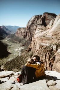 Man and Woman on Mountain - Dating Relationship Standards Introverted Alpha